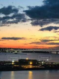 自然,屋外,太陽,朝日,雲,旅行,正月,お正月,日の出,新年,初日の出,残光