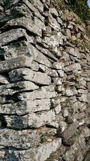 屋外,山,岩,壁,石,石垣,瓦礫,岩盤