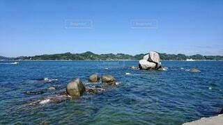 自然,風景,海,空,屋外,湖,ビーチ,ボート,島,水,船,水面,海岸,山,岩,愛媛,青色,日中