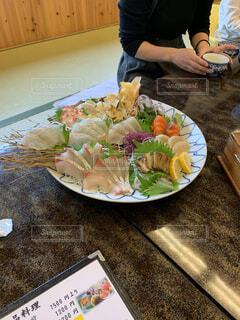 食べ物,屋内,テーブル,皿,畳,おいしい,刺身,新鮮,刺身盛合せ