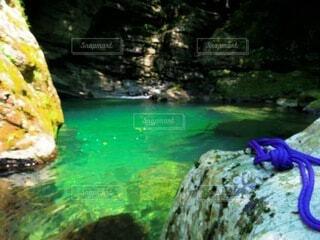 自然,川,岩,キャンプ,渓谷,仁淀ブルー
