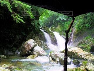 自然,川,滝,キャンプ,渓谷