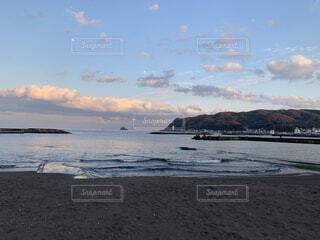 自然,風景,海,空,ビーチ,砂浜,夕焼け,海岸,日本,japan