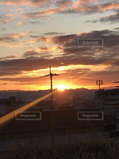 京都,朝日,正月,お正月,日の出,新年,初日の出