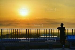 朝日,雲,光,正月,お正月,日の出,新年,初日の出,赤い