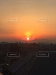 空,太陽,正月,お正月,日の出,扇