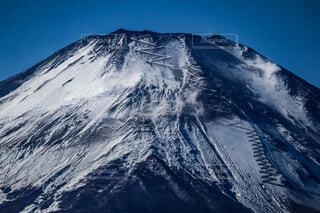 風景,富士山,青空,雪山,山,山中湖,冠雪