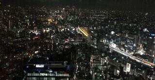 雨の新宿の写真・画像素材[4065935]
