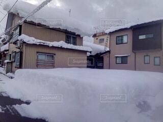 冬,雪,屋外,家,冷たい