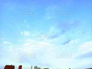 空,屋外,雲,通り,日中