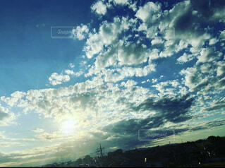 自然,風景,空,屋外,雲,樹木,日中