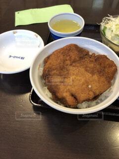 ヨーロッパ軒のソースカツ丼の写真・画像素材[4106784]