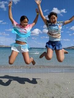 夏だ!ビーチだ!の写真・画像素材[4237508]