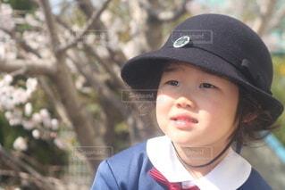 今日から幼稚園生の写真・画像素材[4325313]