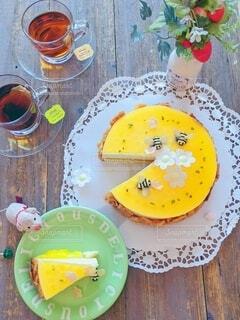 初夏のマンゴームースの写真・画像素材[4351395]