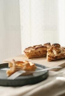 食べ物の断面のクローズの写真・画像素材[4068536]