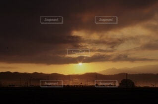 風景,空,屋外,太陽,朝日,雲,正月,お正月,日の出,新年,初日の出