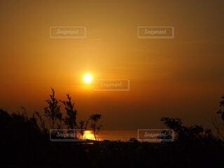自然,風景,海,空,屋外,太陽,夕暮れ