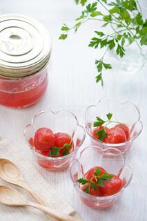 トマトのハニーマリネの写真・画像素材[4146250]