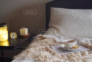 ベッドルームの写真・画像素材[4409584]