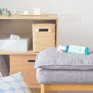 インテリア,屋内,ボトル,家具,枕,ファブリック,レールデュサボン,センシュアルタッチ,せっけんの香り,ファブリックスプレー