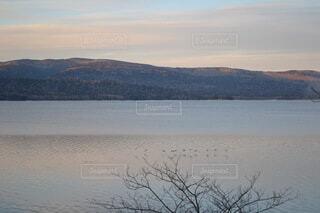 自然,風景,屋外,湖,北海道,阿寒湖