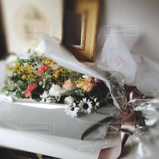 春の花の花束の写真・画像素材[4191101]