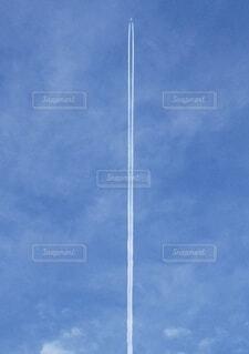 空,雲,青空,飛行機,青い空,旅行,旅,飛行機雲,お出かけ,高い,お空