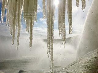 自然,風景,冬,屋外,景色,旅行,カナダ,canon,つらら,Canada,Travel,trip,ナイアガラの滝,Niagarafalls