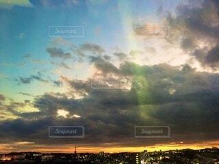 自然,風景,空,雲,夕暮れ,景観