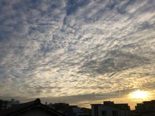 都市の空の眺めの写真・画像素材[4073528]