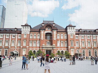 東京駅の写真・画像素材[4081790]