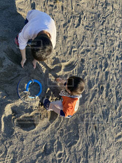 公園,屋外,砂,子供