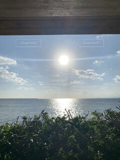 自然,海,空,太陽,海岸,眺め