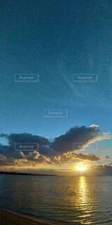 海,空,朝日,正月,お正月,日の出,新年,初日の出