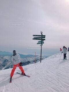自然,空,冬,雪,山,スキー,運動,スキー場,スノーボード,ウィンタースポーツ,スキーヤー