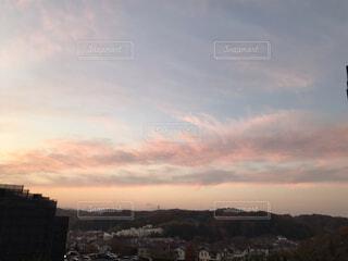 風景,空,屋外,雲,夕暮れ