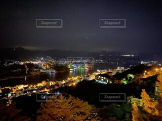 風景,夜景,絶景,屋外,綺麗,景色,都会,月,高層ビル