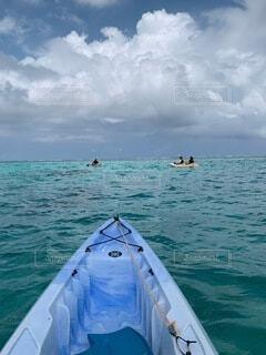 海,空,冬,ビーチ,沖縄,カヤック,やんばる