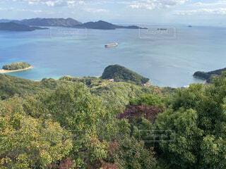 自然,風景,海,空,雲,ボート,島,瀬戸内海