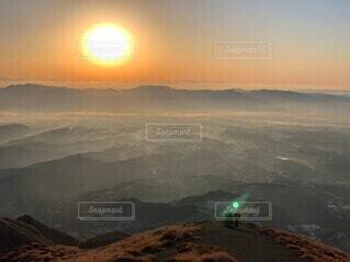 自然,風景,空,太陽,霧,山,雲海,日の出