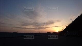風景,空,屋外,太陽,朝日,雲,夕暮れ,正月,お正月,日の出,新年,初日の出