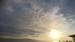 屋外,朝日,正月,お正月,日の出,新年,初日の出,朝の赤い空