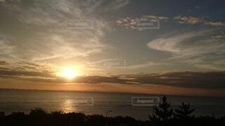 自然,屋外,太陽,朝日,夕暮れ,正月,お正月,日の出,新年,初日の出