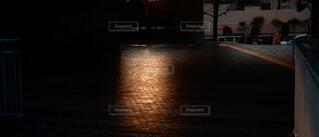 夕方のタイルの写真・画像素材[4136033]