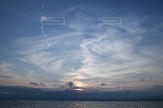 空と海の写真・画像素材[4083985]