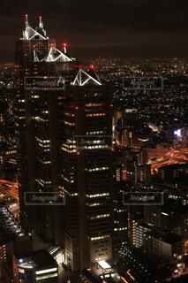 新宿の夜の写真・画像素材[4104248]