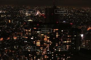 都市の夜の写真・画像素材[4105936]