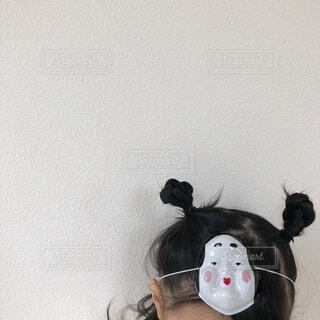 おかめのお面の写真・画像素材[4185658]