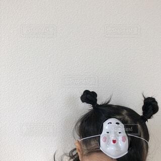 おかめのお面の写真・画像素材[4185663]